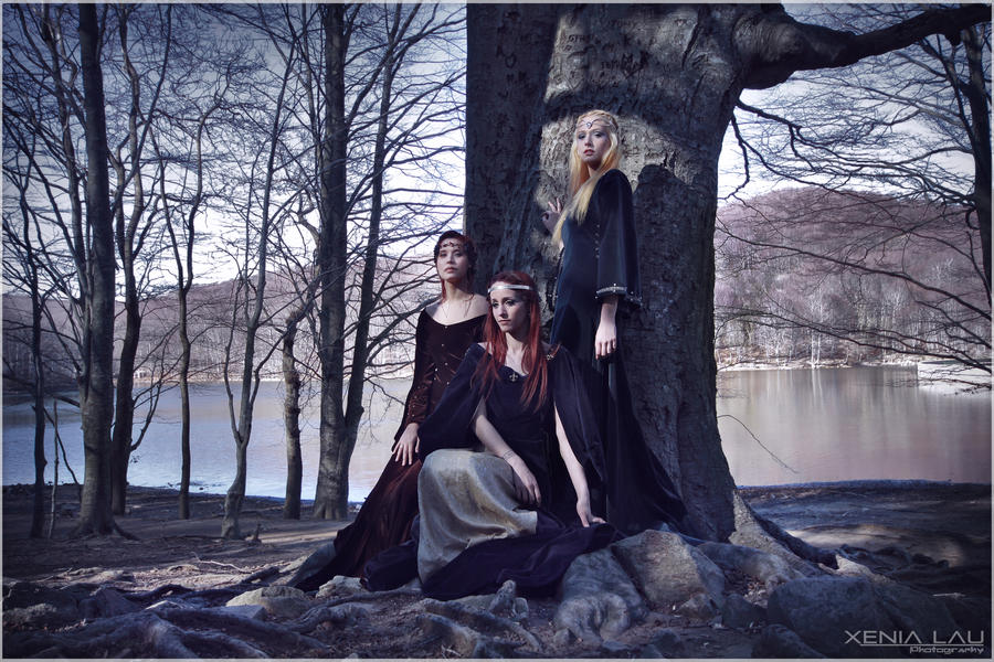 The 3 witches II by Costurero-Real