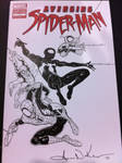 Spidey Sketch cover Wizard World Philly '12