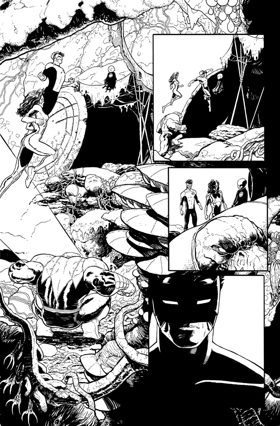 Green Lantern New Guardians #15 page 5 by AaronKuder