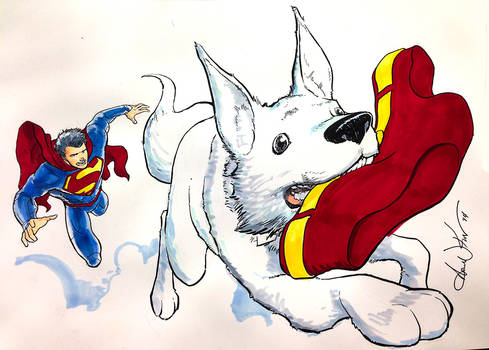 Krypto and the great undies caper