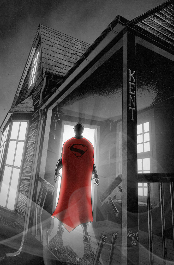 Action Comics 38 cover... by AaronKuder