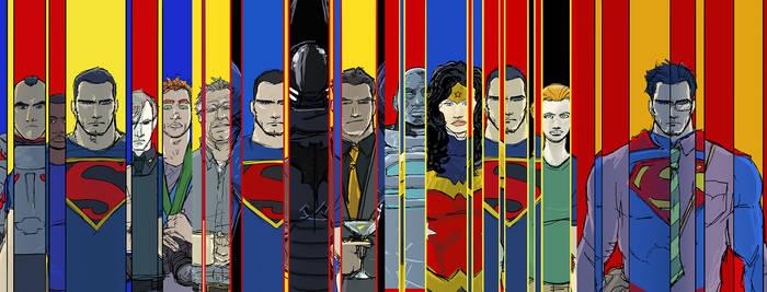 Original concept for the august run of Super books