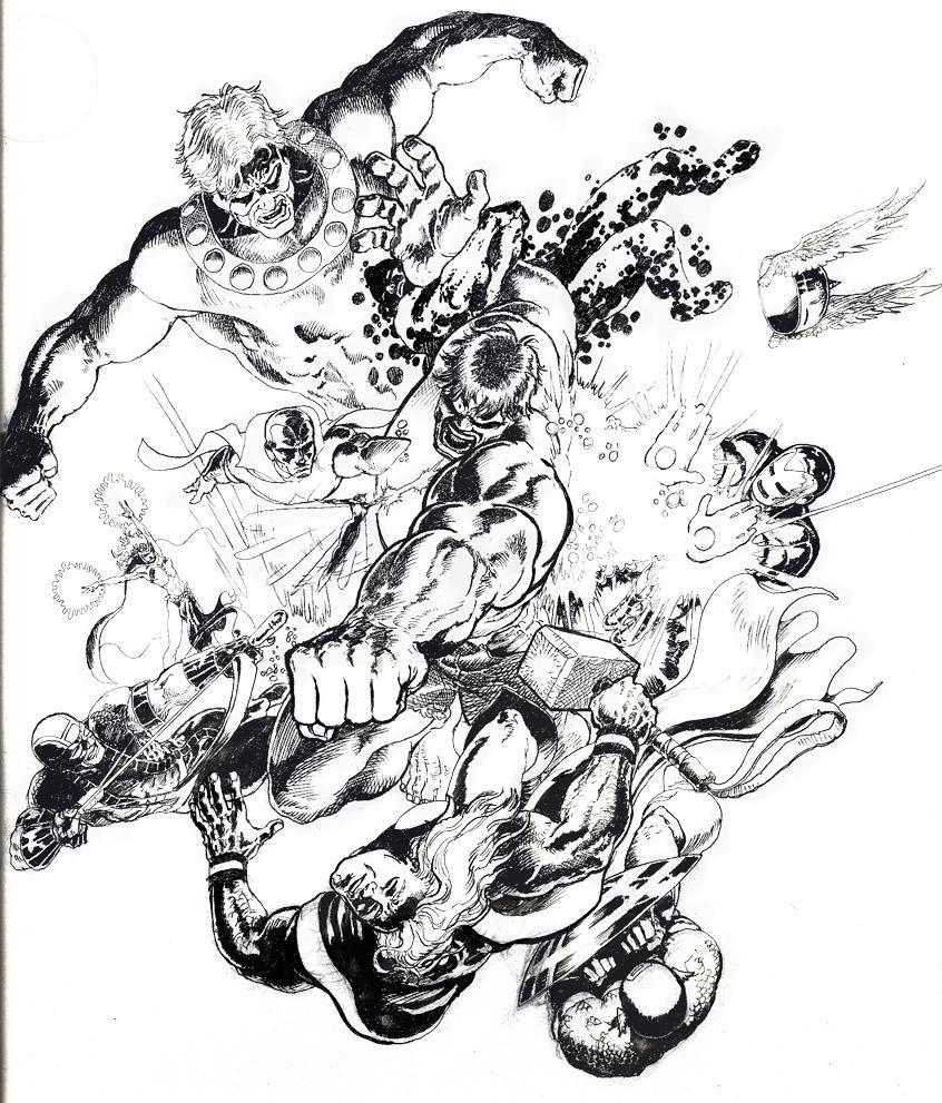 hulk by AaronKuder