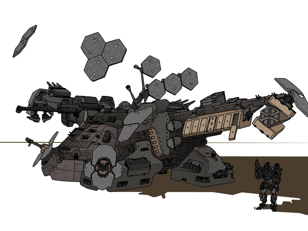 Main Assault Platform by shinsengumi77