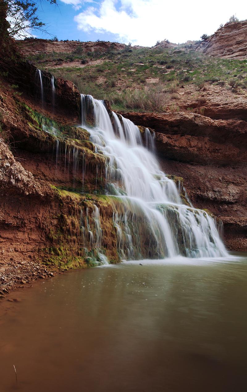 Vermilion Falls by Iamidaho