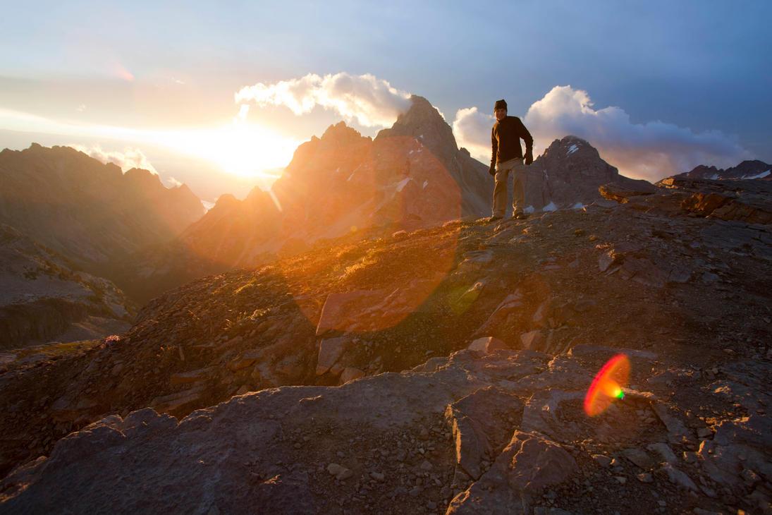 Table Mountain Sunrise by Iamidaho
