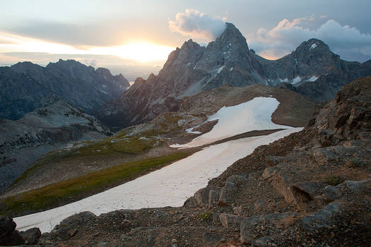 Sunrise over the Grand Teton