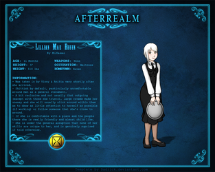Afterrealm: Lillian Mae Bruun by Mifmemo