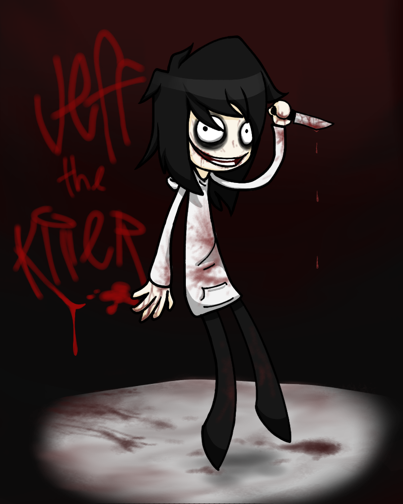 Jeff The Killer...again by xDeathKitten
