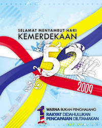 52nd Independence Day,Malaysia by rajaotai