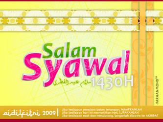 Selamat Datang Syawal 1430H by rajaotai