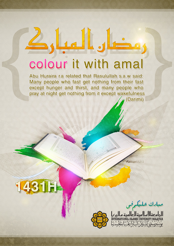 Colours of Ramadhan by rajaotai