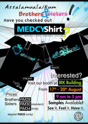 Medcy Shirt CFS IIUM 2010 by rajaotai
