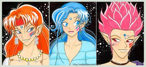 Amazon Trio by Vani-Fox