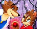 Mrs. Brisby and Justin 2