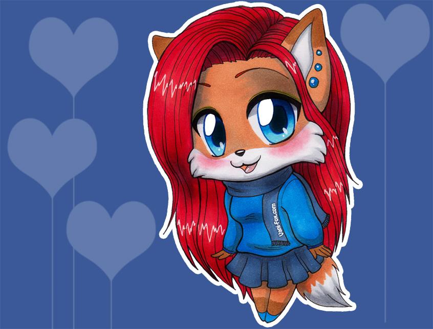 Vani fb Chibi by Vani-Fox by Vani-Fox