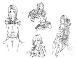 Sketches by g-fli