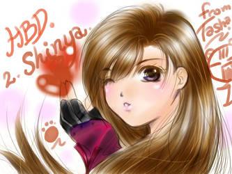 -FFVII- Tifa For Shinya HBD by vazzykun