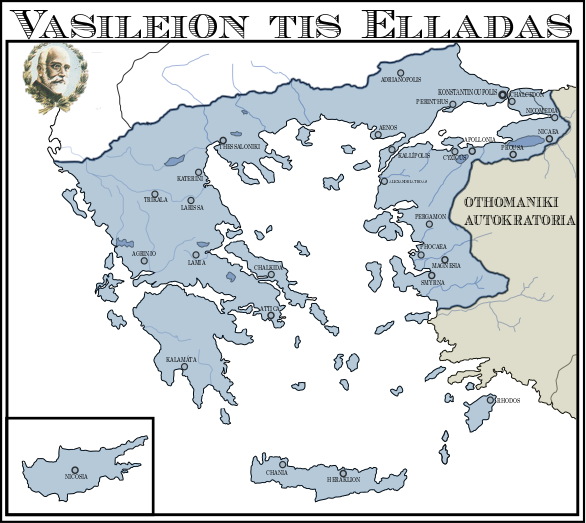 AH | Kingdom of Greece, 1946 by Aethelris on DeviantArt Kingdom Of Greece Map on empire of japan map, kingdom of poland map, grand duchy of tuscany map, ptolemaic kingdom map, kingdom of denmark map, ancient greece map, confederate states of america map, republic of colombia map,