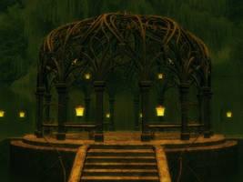 Gazebo Fantasy Stock by Moonchilde-Stock