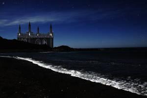 Castle Beach Stock by Moonchilde-Stock