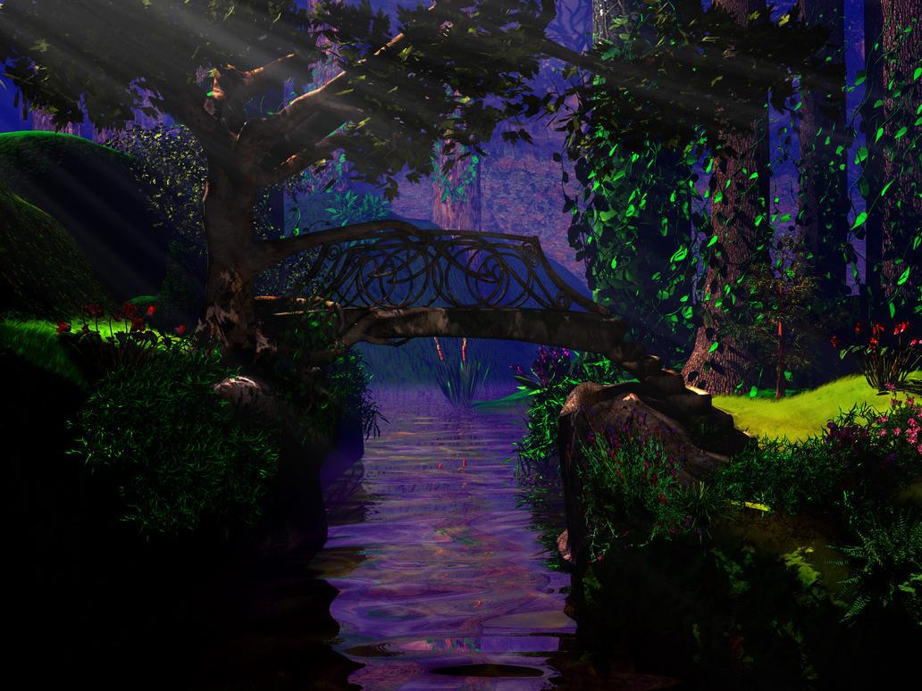 Glen Creek by Moonchilde-Stock
