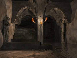 Catacombs Stock by Moonchilde-Stock