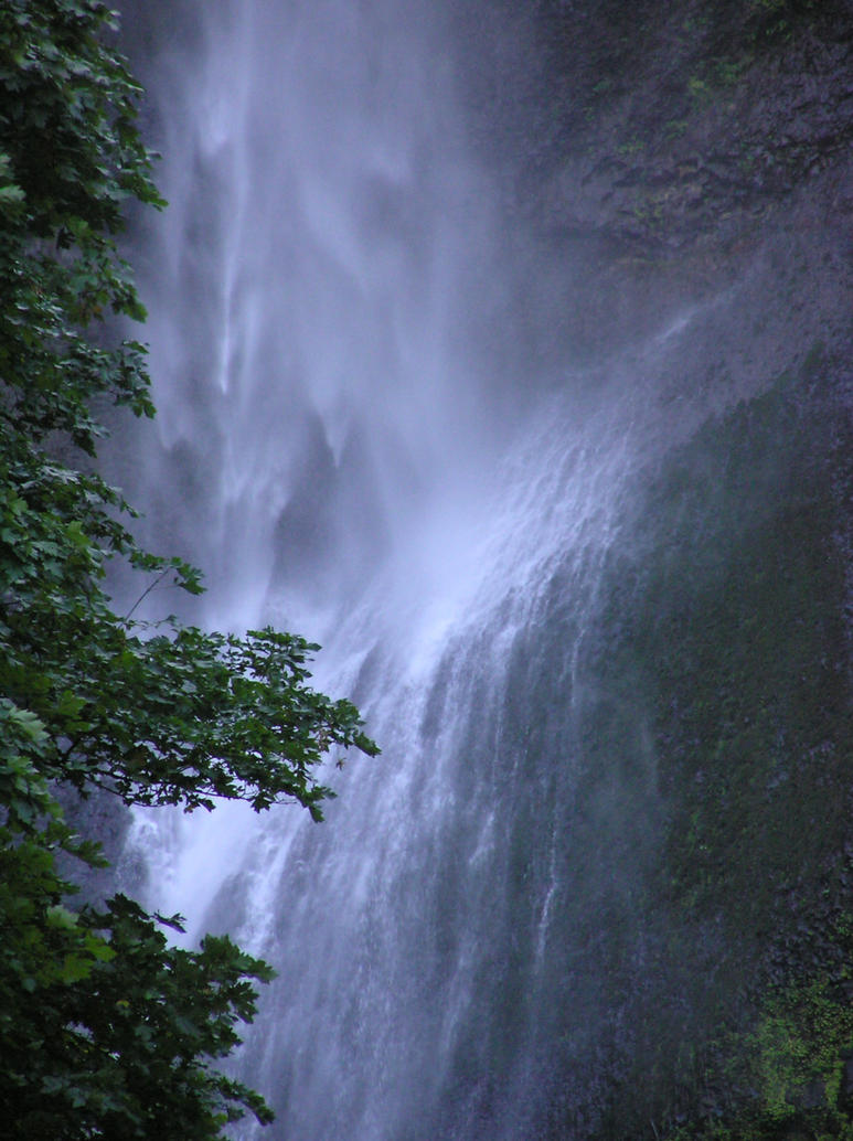 Waterfall 3 Stock by Moonchilde-Stock