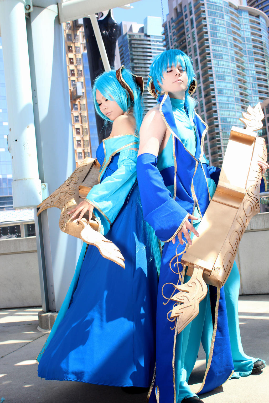 FanExpo 2013 - Sona Cosplay ~ League of Legends by ...