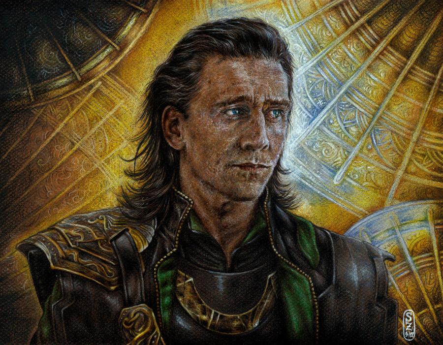 Loki Laufeyson by SecondGoddess