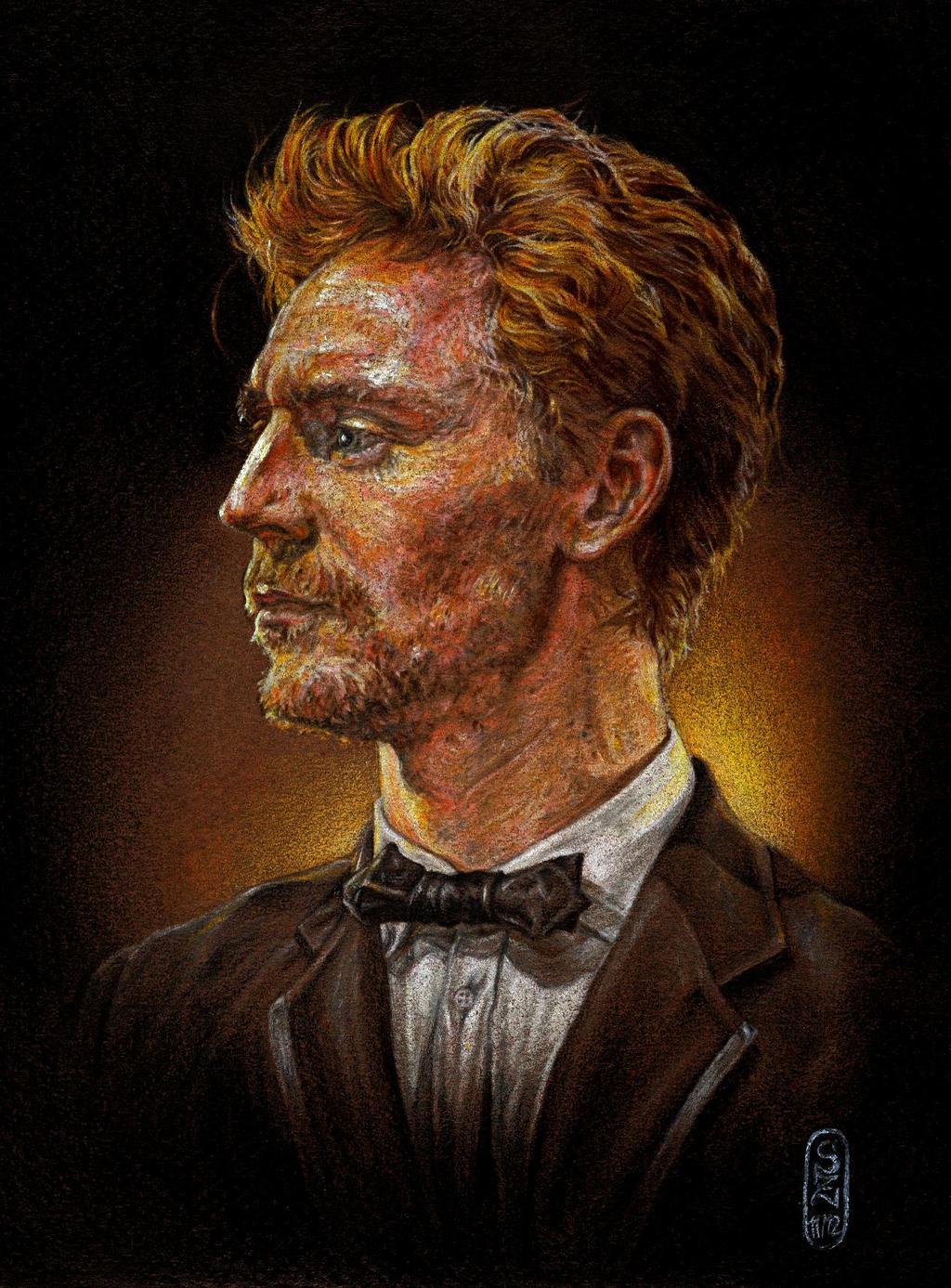Tom Hiddleston III by SecondGoddess
