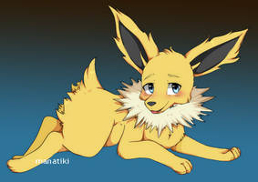 Jolteon by manatiki