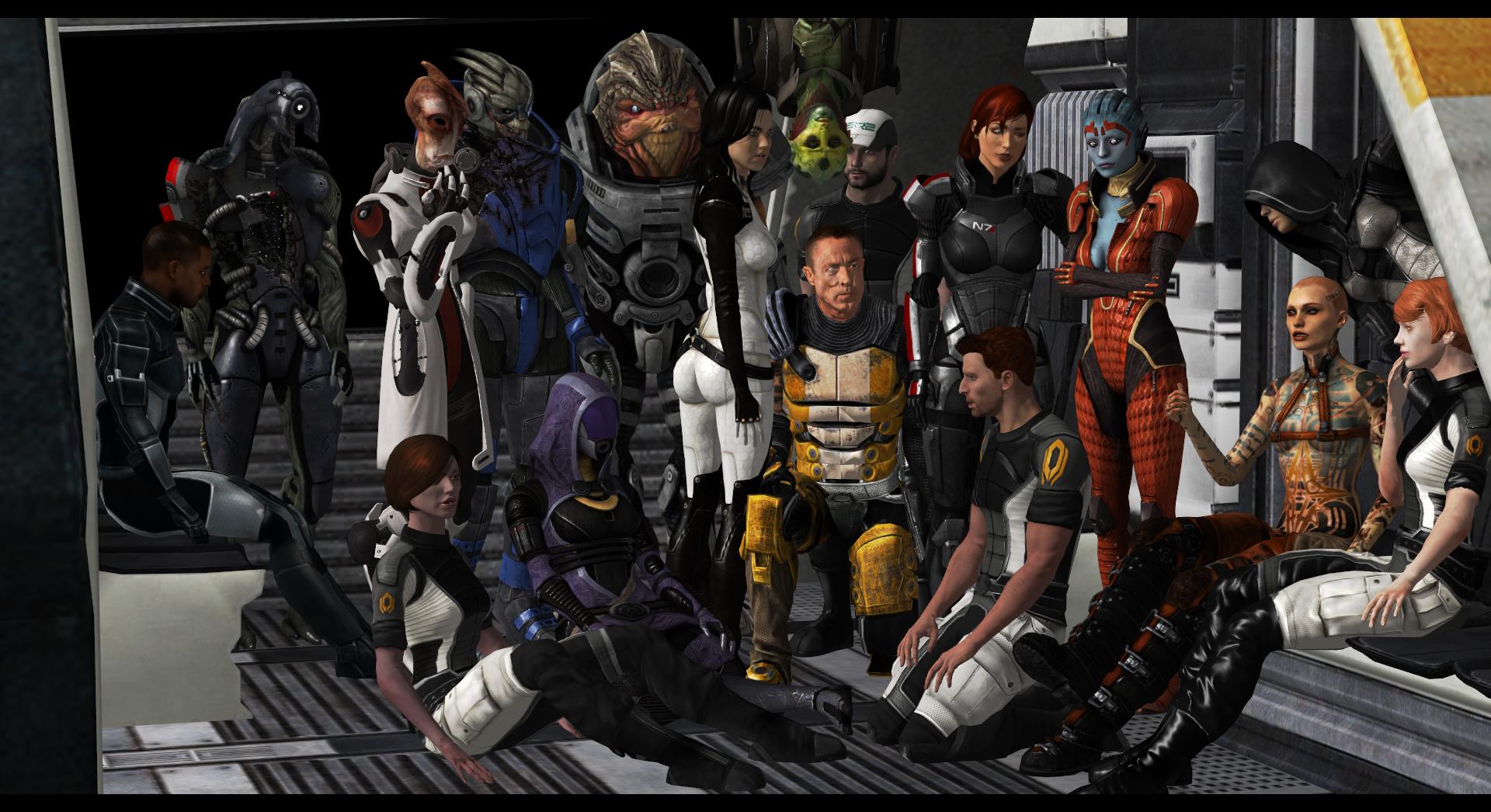 Подарок для любителя Mass Effect 50