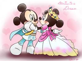 Prince Mickey Princess Minnie by chico-110