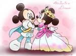 Prince Mickey Princess Minnie