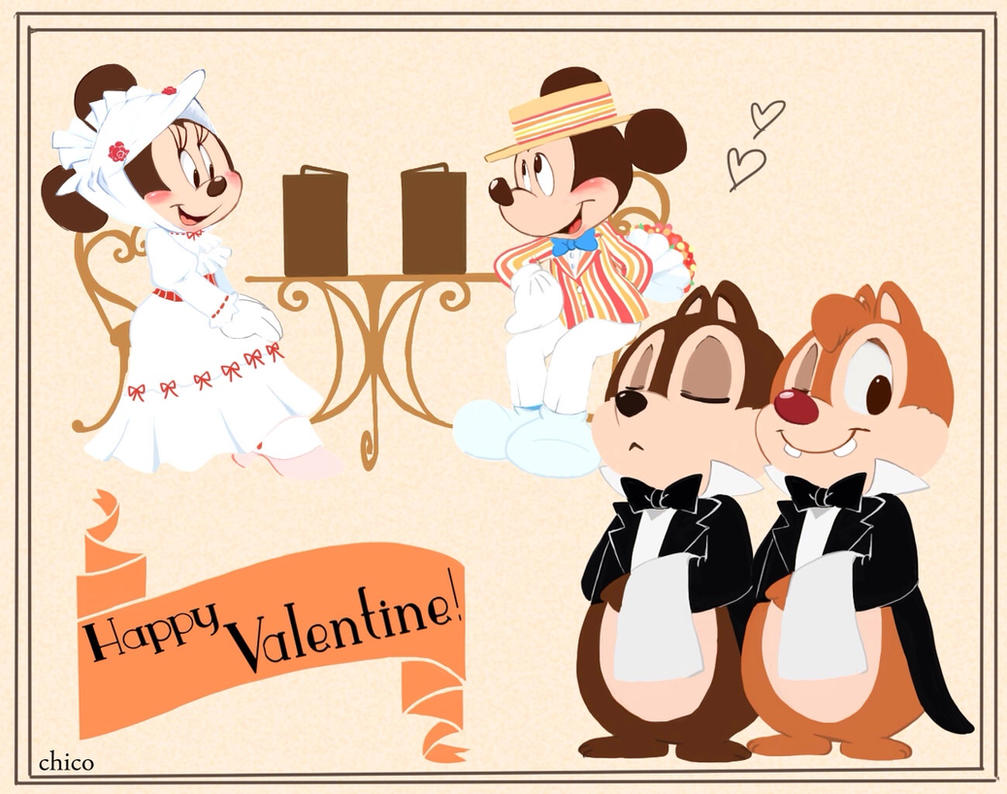 Happy Valentine by chico-110