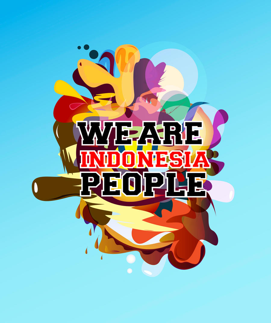 We are indonesia people by gilang2007