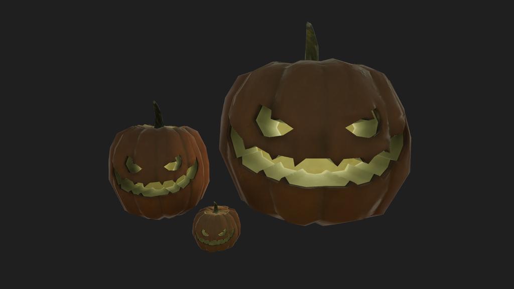Evil pumpkins by eriknordeus
