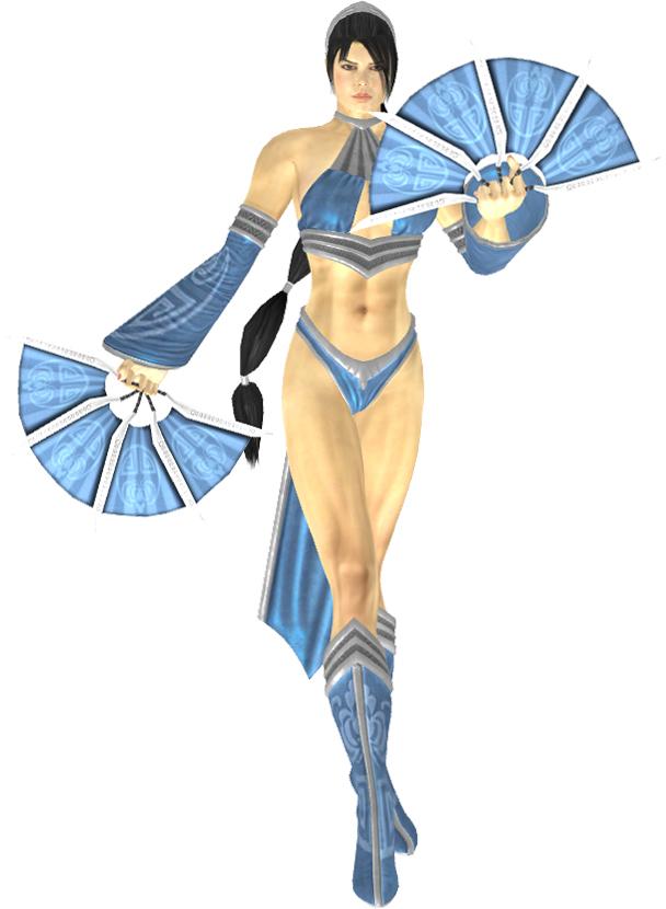 MK9 Kitana 2nd outfit ...