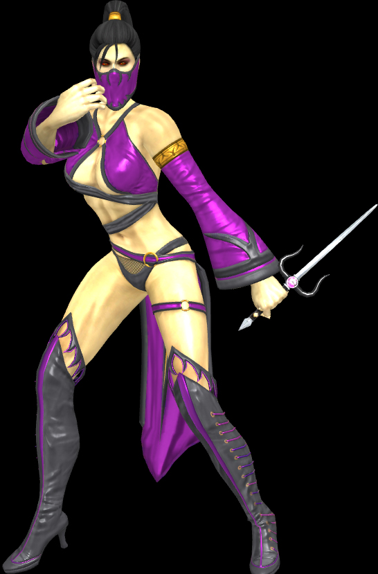 Mk9 Mileena Alternate Costume Mk9 mileena 2nd outfit by