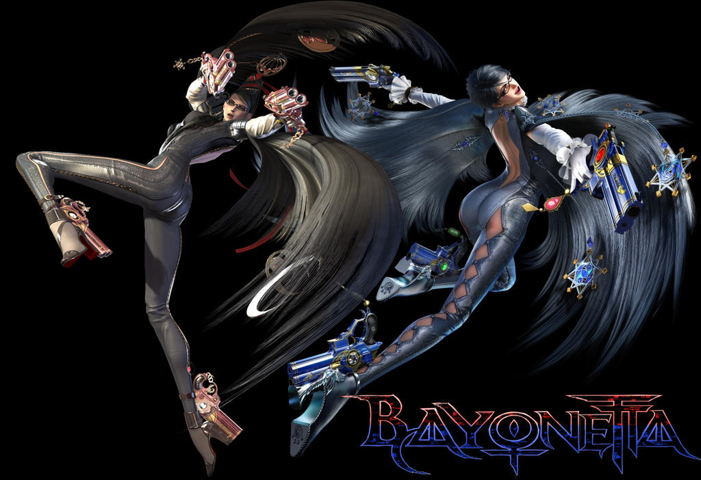 Bayonetta Wallpaper by artemismoonguardian