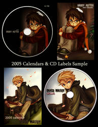 HPxDM Calenders and CDlabels by 4-th