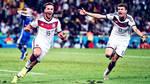 Football: Goetze and Mueller Wallpaper