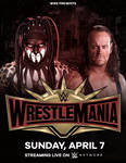 Poster: WrestleMania 35