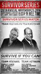 WWE: Survivor Series Poster