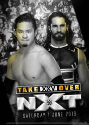 WWE: NXT TakeOver 25 Poster