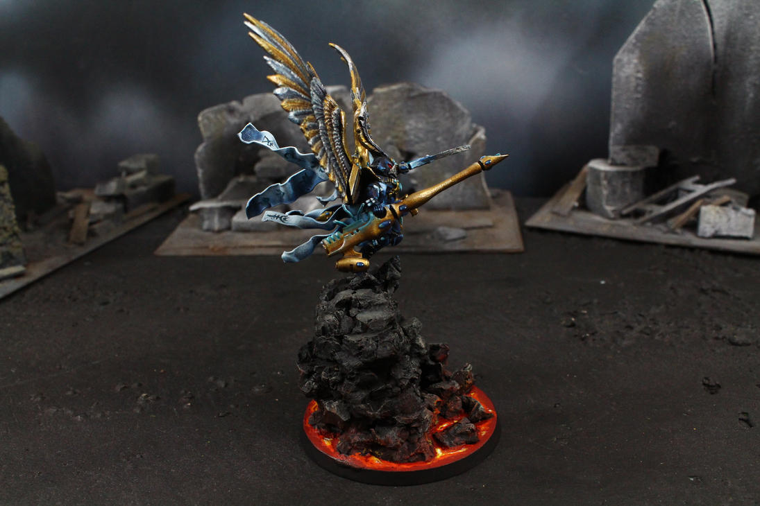 The Last Flight of Phoenix Lord Baharroth 1 by IgenSTilch