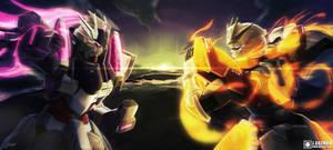 Gunpla Battle by Z3ros