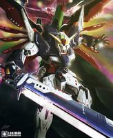 Destiny Gundam by Z3ros