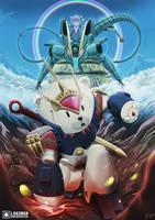 [Commission] Mashin Hero Wataru x GBF Homage